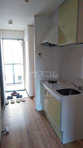 パークハウス南牛川 207号室のキッチン