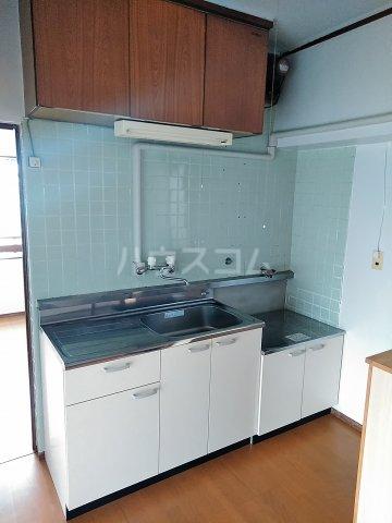 ビレッジ牧 301号室のキッチン