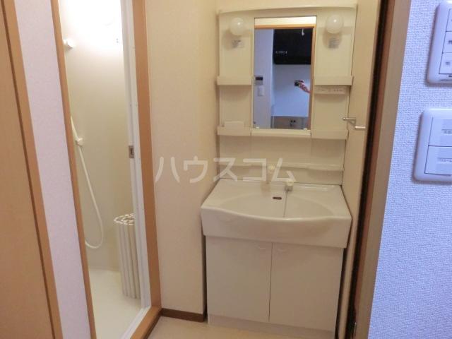 カアナパリ 301号室の洗面所
