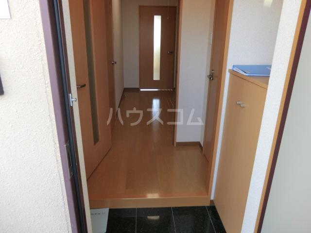 カアナパリ 301号室の玄関