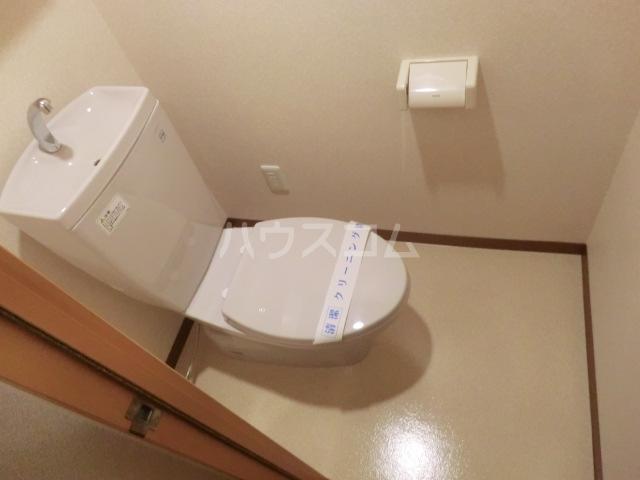 カアナパリ 301号室のトイレ