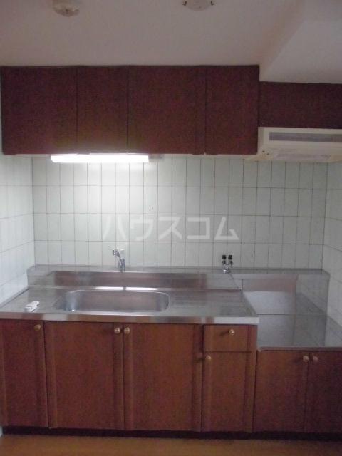 リヴェール 601号室のキッチン