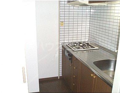 日之出ビル多の津 513号室のキッチン