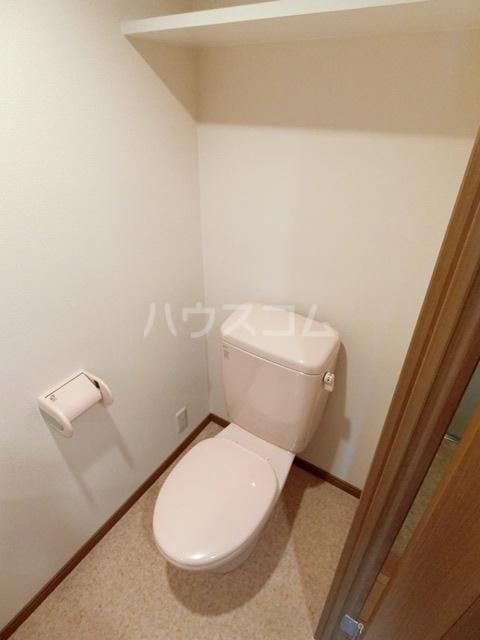 メモリアル空港東 309号室のトイレ