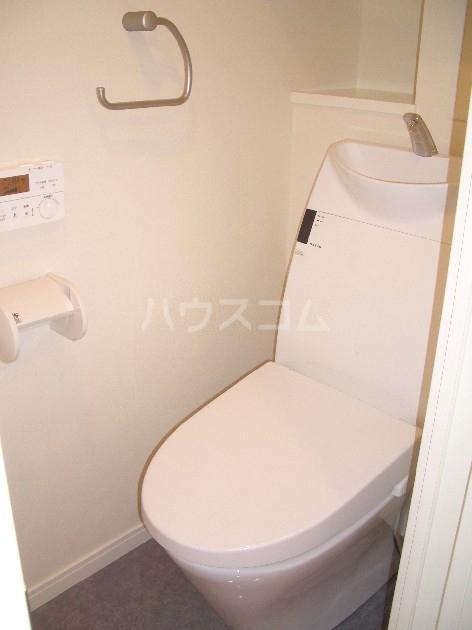 サヴォイザ・セントラルガーデン 610号室のトイレ