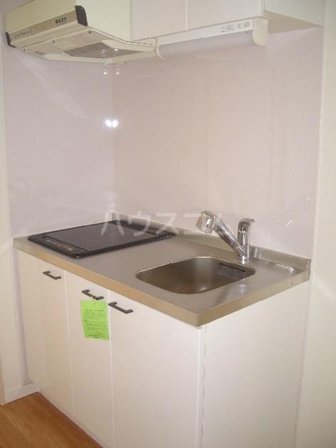 サヴォイザ・セントラルガーデン 610号室のキッチン