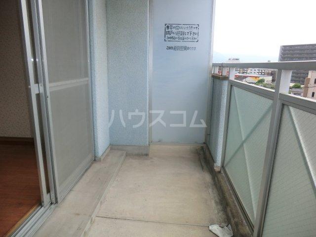 カーサ箱崎 705号室のバルコニー