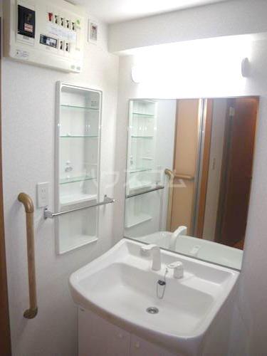 Tutti27 202号室の洗面所