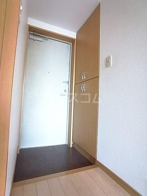 ウエストサイド箱崎 301号室の玄関