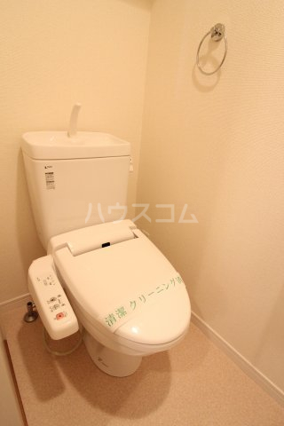 REGALO空港通 605号室のトイレ