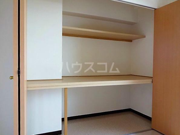 レジデンスカープ博多 601号室の収納