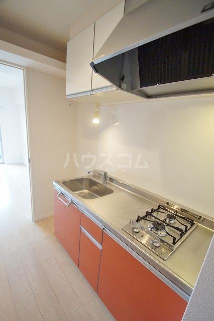 ウェルブライト博多 1106号室のキッチン