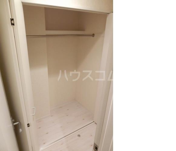 アハイブ箱崎駅前 201号室の収納