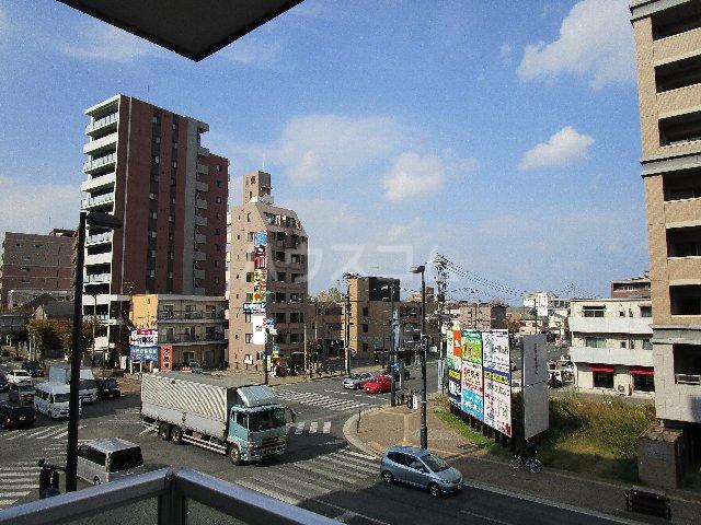 アハイブ箱崎駅前 201号室の景色