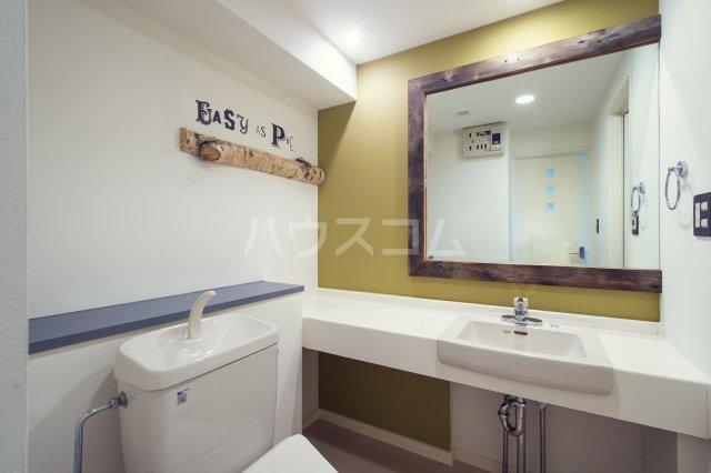 箱崎パルク 706号室の洗面所