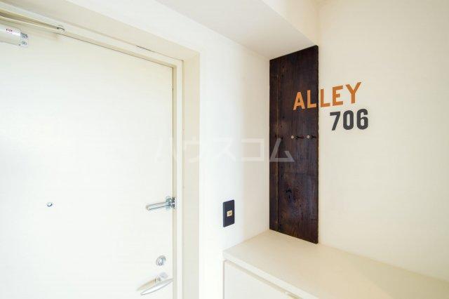 箱崎パルク 706号室の玄関