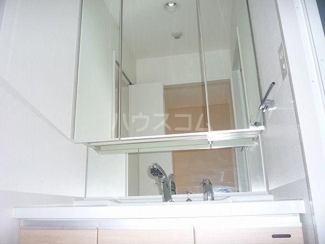 ベルニード箱崎 501号室の洗面所