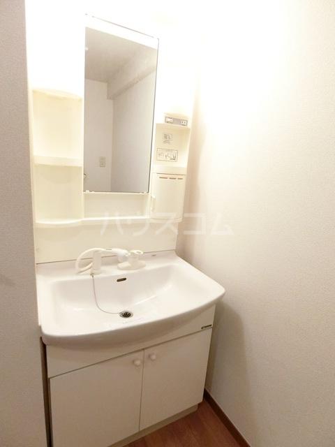 ウィズパーク 505号室の洗面所