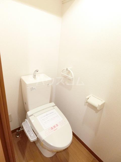 ウィズパーク 505号室のトイレ