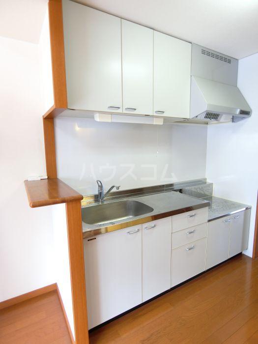 レジデンス空港北 407号室のキッチン