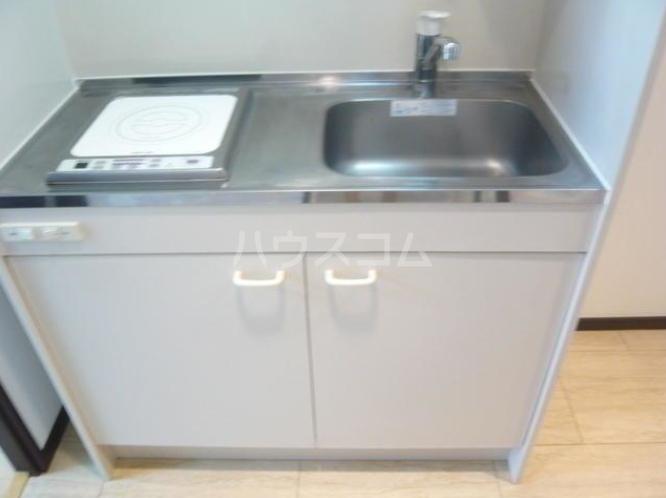 タケオクリスタル等々力 202号室のキッチン