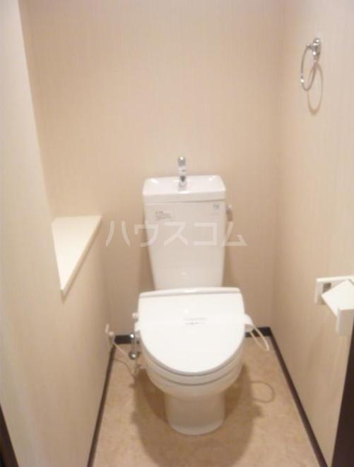 タケオクリスタル等々力 202号室のトイレ