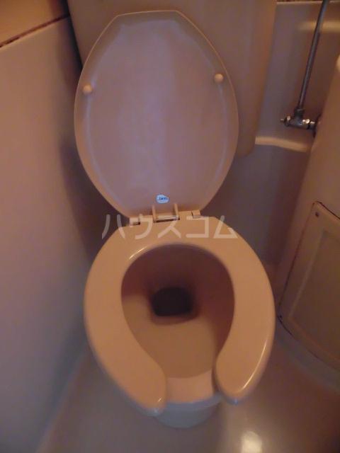 ノア都立大 601号室のトイレ