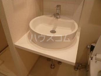 ベルファース奥沢 203号室の洗面所