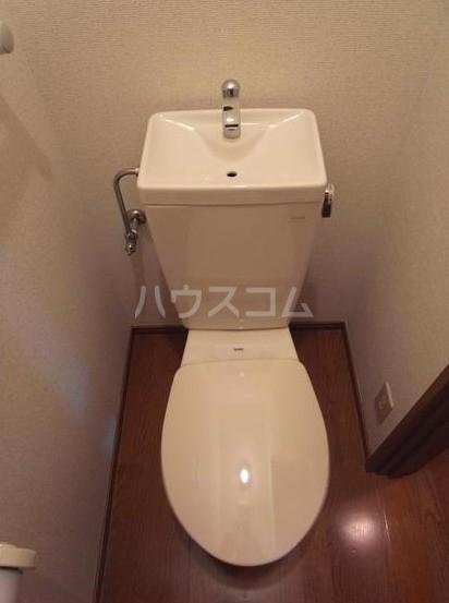 ハーヴェスト八雲 101号室のトイレ