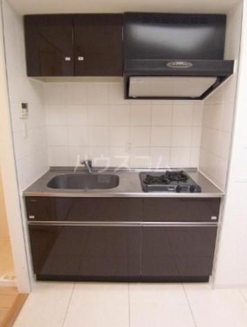 カスタリア尾山台 305号室のキッチン