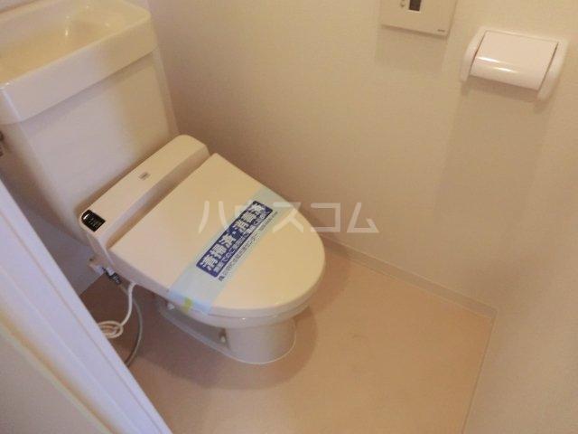 サンパーク駒沢 601号室のトイレ
