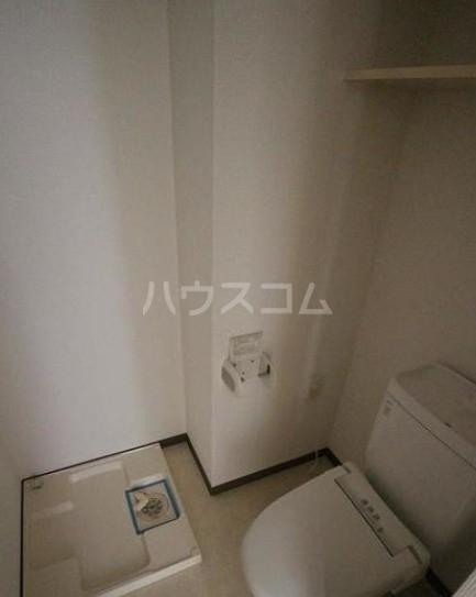 スカイコート都立大学第3 606号室のトイレ