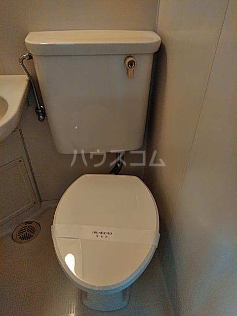 グリーンヒル等々力 203号室のトイレ