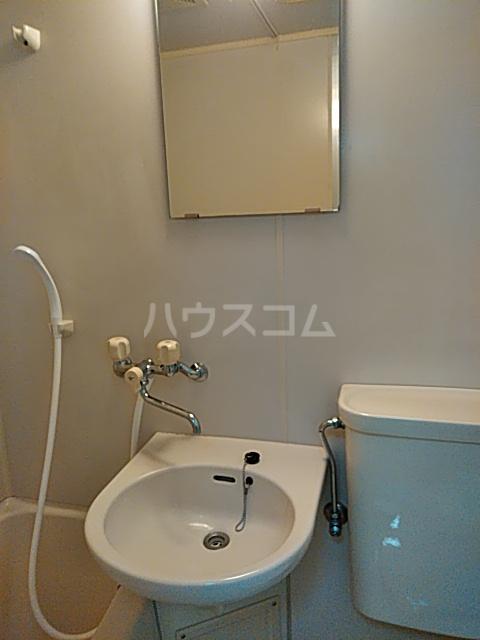グリーンヒル等々力 203号室の洗面所