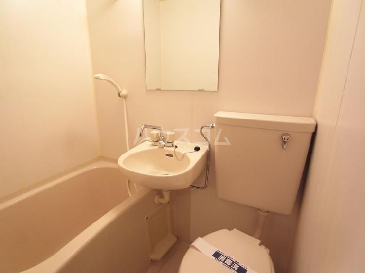モビーレ等々力 104号室のトイレ