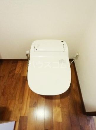アビターレ緑が丘 101号室のトイレ