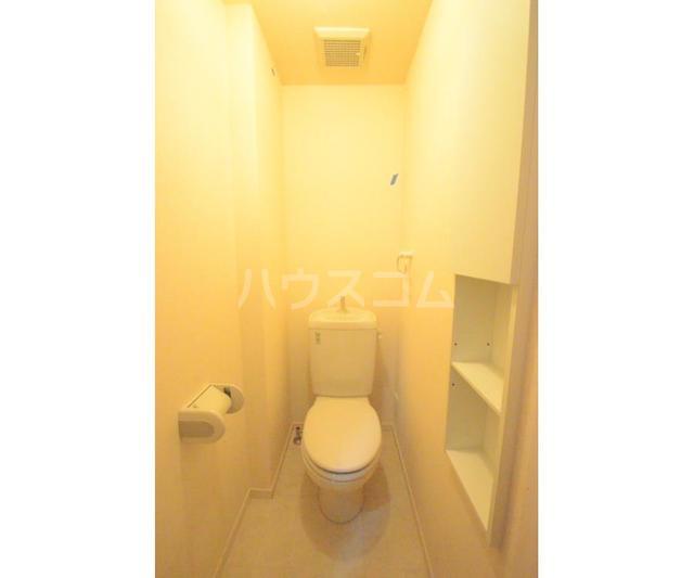 Y'scourt 103号室のトイレ