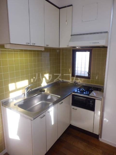 第2ベルハウス 201号室のキッチン