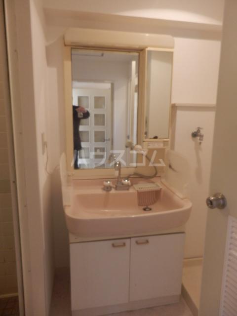 第2ベルハウス 201号室の洗面所