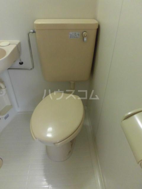 パシモントハウス 101号室のトイレ