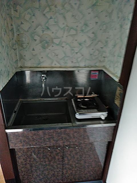 ドウェルさかえ 206号室の洗面所