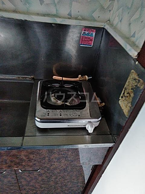 ドウェルさかえ 206号室のキッチン