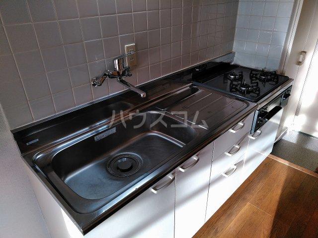ハウス大岡山 407号室のキッチン