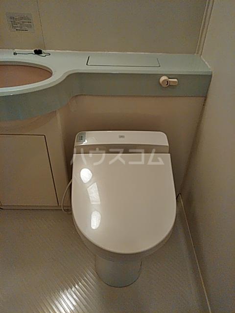 コンフォーレ 204号室のトイレ