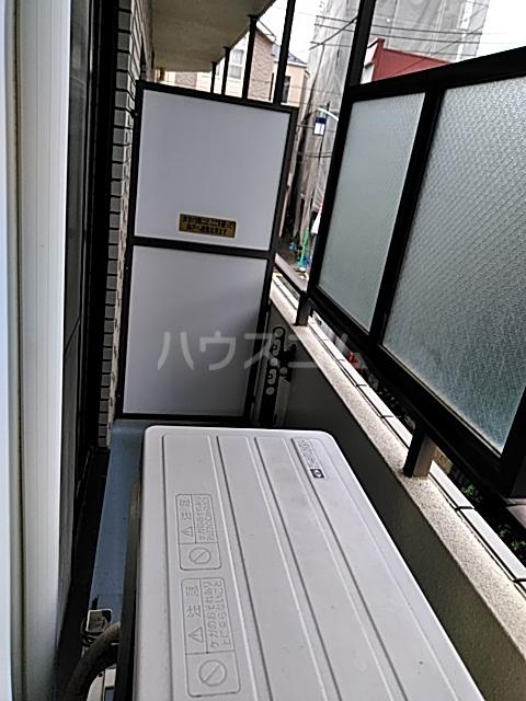 コンフォーレ 204号室のバルコニー