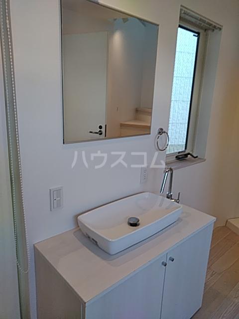 コミチテラス大岡山 07号室の洗面所