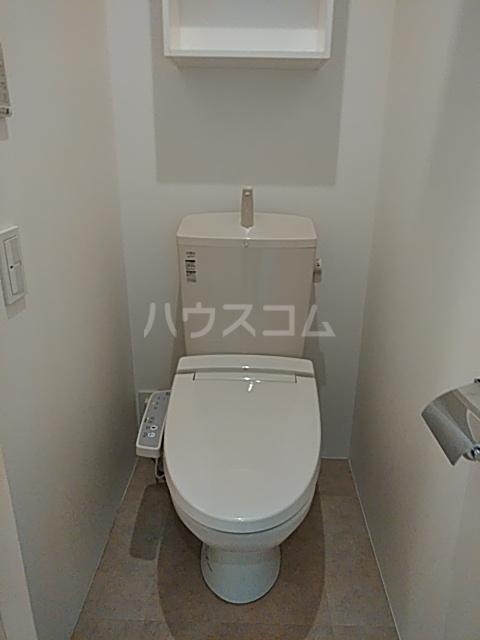 コミチテラス大岡山 07号室のトイレ