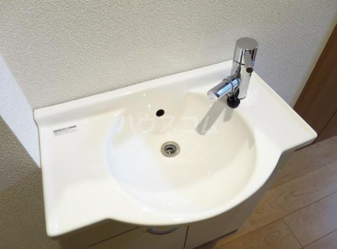 アイコート奥沢 104号室の洗面所