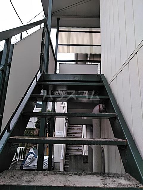 多摩ハイツB棟 201号室のエントランス