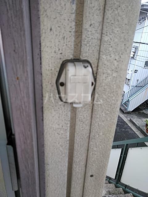 多摩ハイツB棟 201号室のセキュリティ